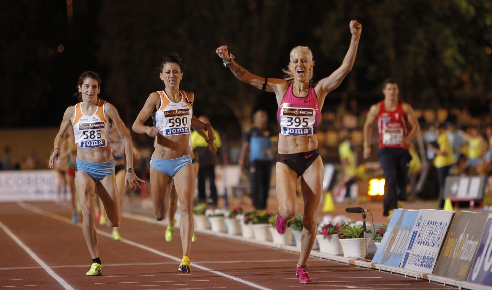 Llegada 1500 femenino Alcobendas 2013