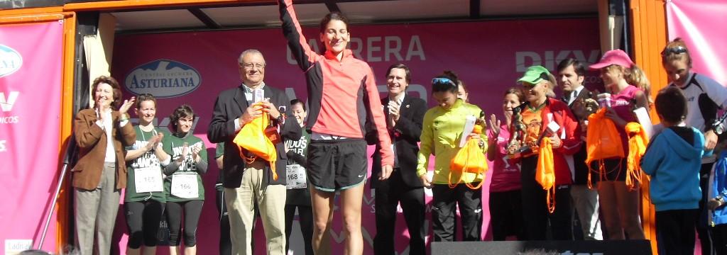 Podium Carrera de la Mujer Madrid 2013