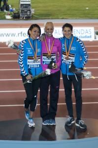 Podium 1500 Cto España 2013 (Alcobendas)